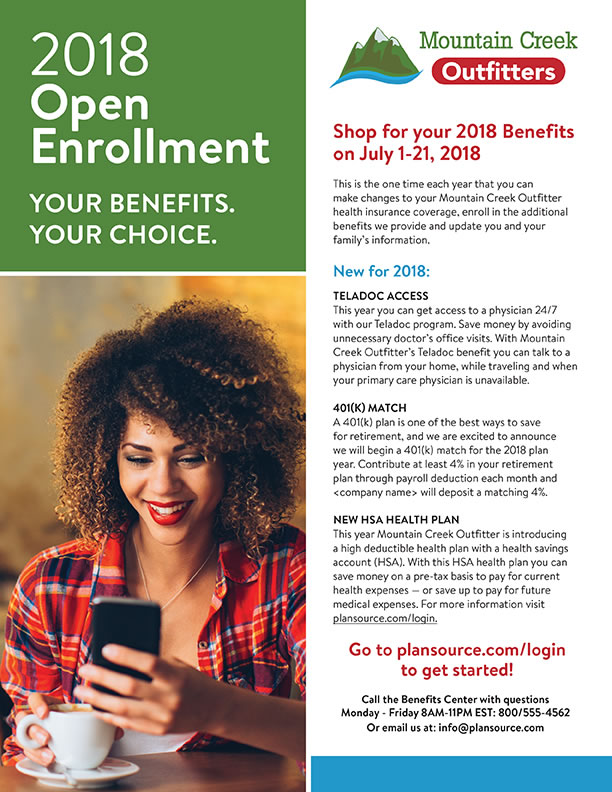 Open Enrollment Handout